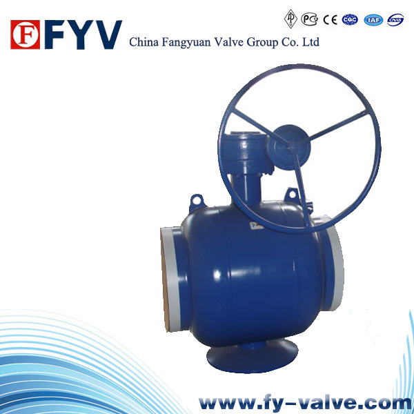 Fully Welded Body Cast Steel Ball Valve