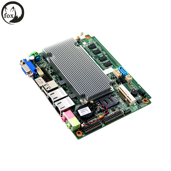3.5inch Fanless D2550 Industrial Motherboard /Ipc Mainboard with D2550 and 2g RAM for ATM Computer