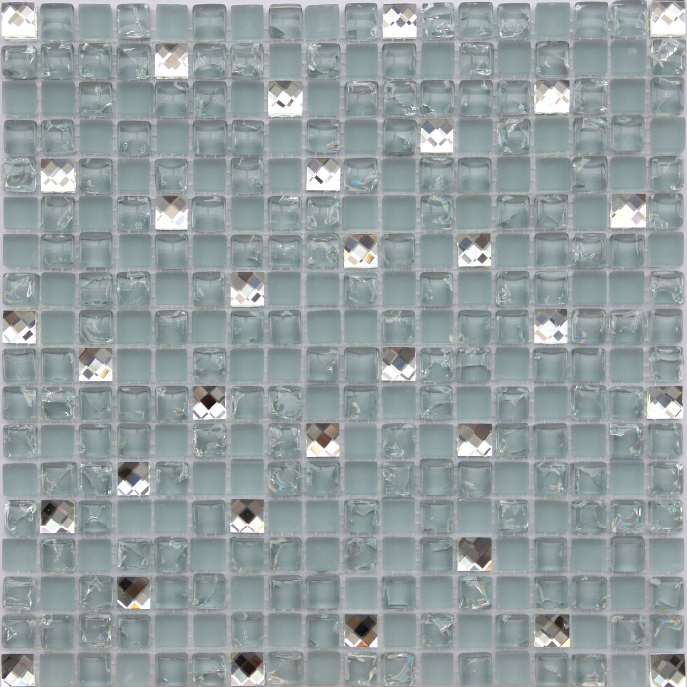 China Ice Crackle Glass Mosaic Tiles Photos Pictures