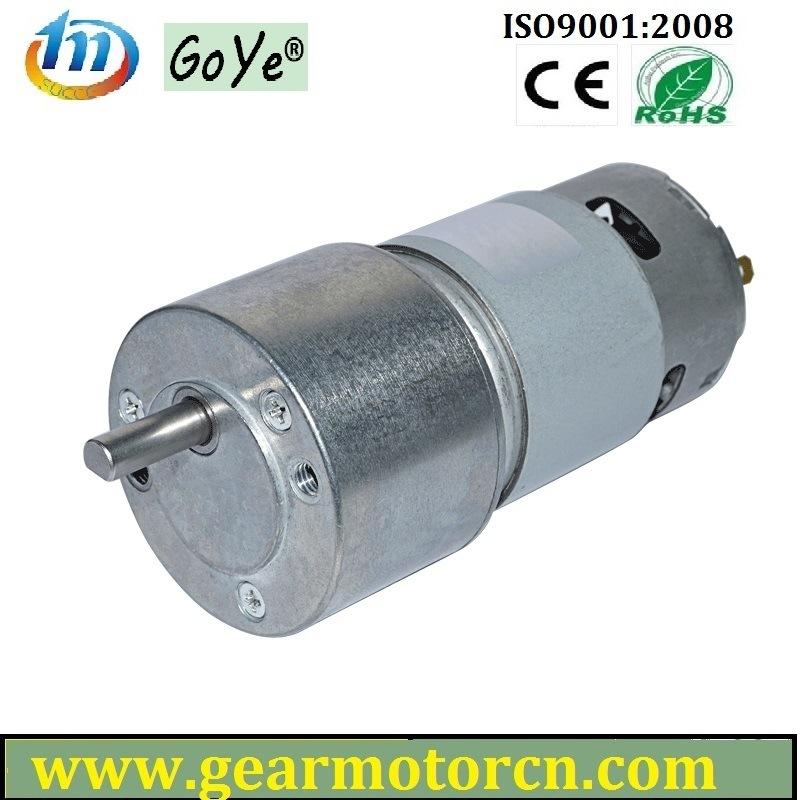 50mm Dia. for Vending Banking System 9-28V High Torque Round DC Gear Motor