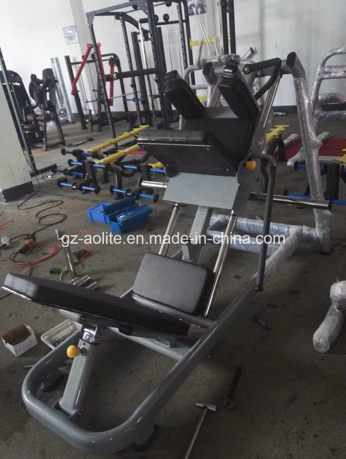 Leg Press & Hack Squat Commercial Gym Exercise Equipment Training Equipment for Wholesale