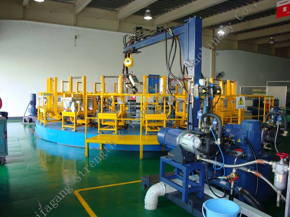 Rotary Table PU Foaming Line (RT Series)