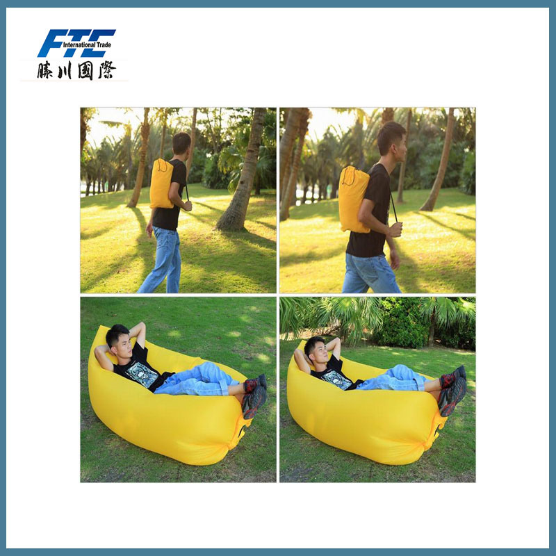 Comfortable Inflatable Traveling Lazy Bag