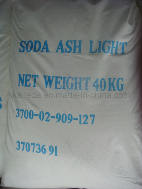 China Factory 99.2% Light Soda Ash /Sodium Carbonate