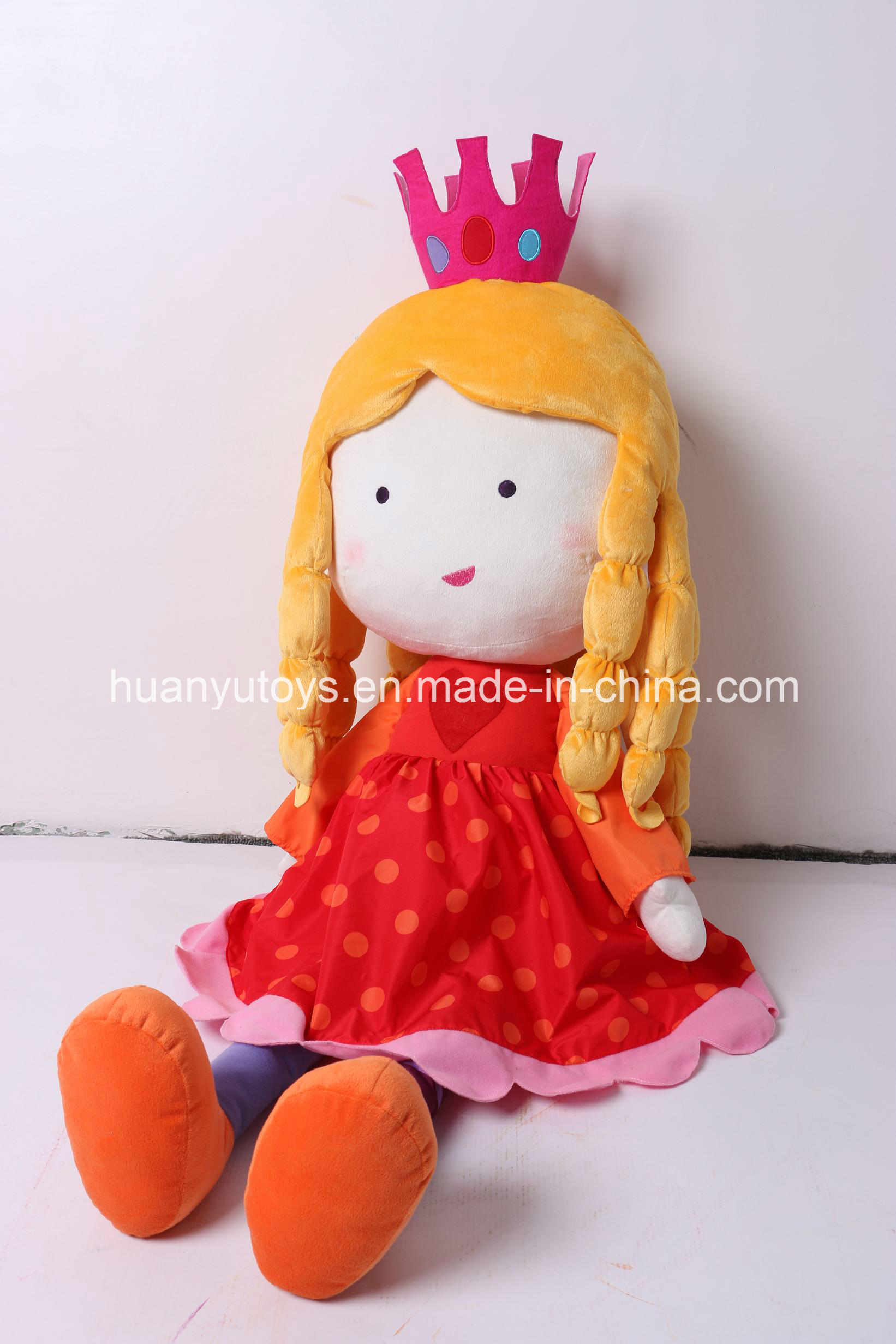 New Design 110cm Soft Plush Princess Toy