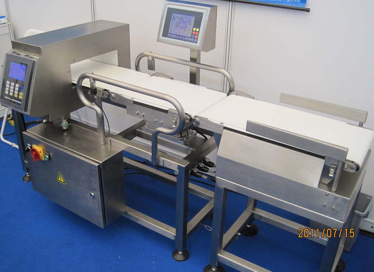 Combined Metal Detector, Weight Sort Machine
