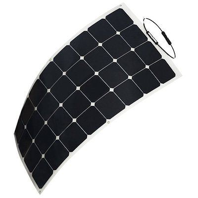 Wholesale China Competitive Price Sunpower Semi Flexible Solar Panel 100W