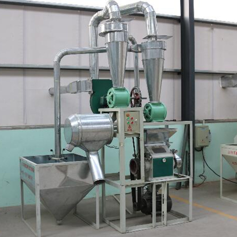 Semi-Auto Wheat Flour Mill (6FY-28B)