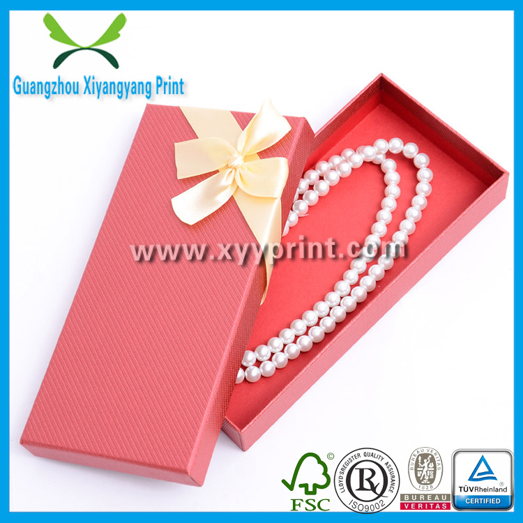 Good Looking Paper Jewelry Box for Ring Necklace Bracelet Set Earring