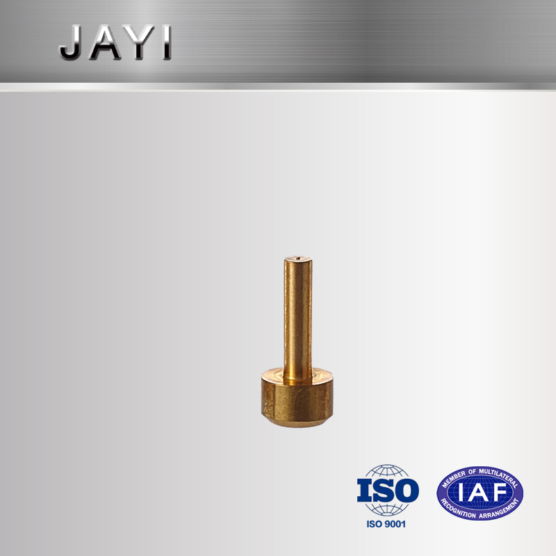 Brass Communication Components Made by CNC Machine with Turning and Milling