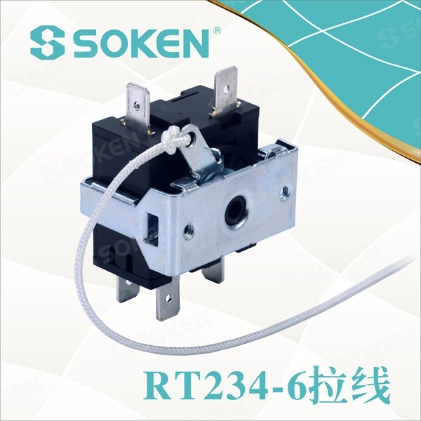 7 Position Rotary Switch for Fan (RT234-6)
