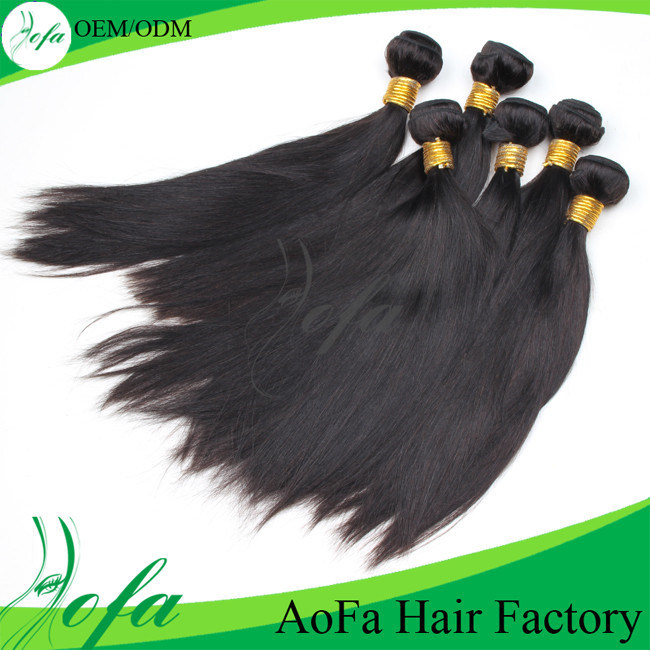 Straight 100% Brazilian Remy Human Hair Product