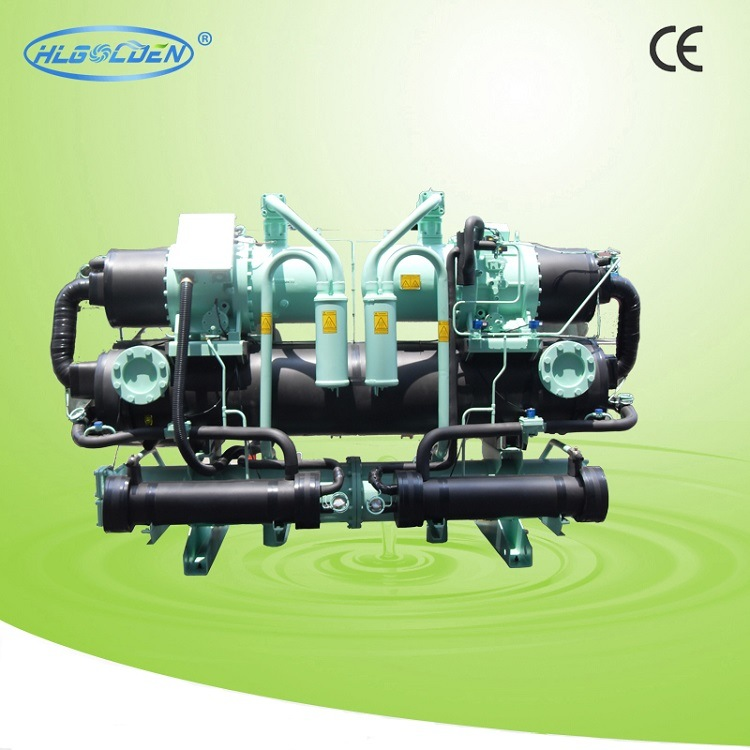 Screw-Type Industrial Water Chiller (with Heat recovery) Refrigerant R407c