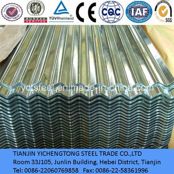 High Quality Dx51d Galvanized Steel Sheet