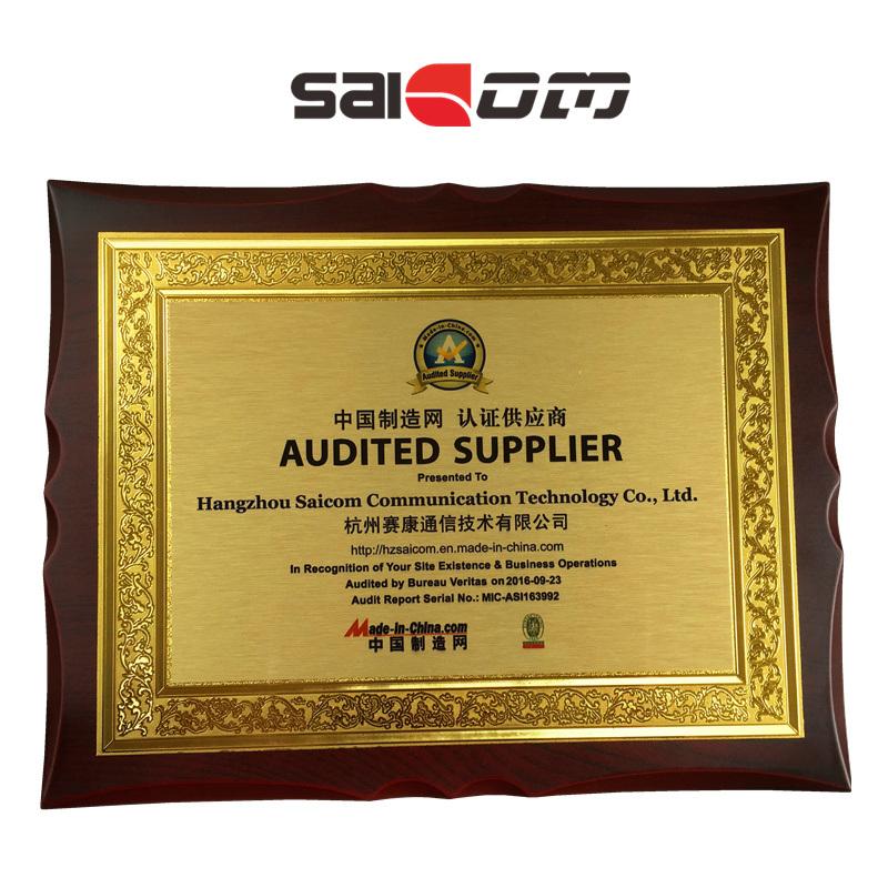 Saicom(SCM-G4SS12) 1000Mbps/port 4 RJ45 Ports & 1*9 switch for Computer
