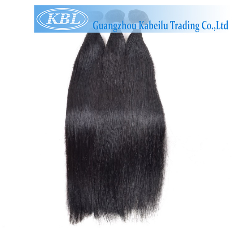 Brazilian Jet Black Hair Grade 5A Hair
