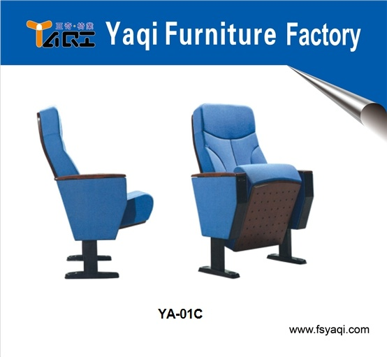 Elegant Design Church Chair Metal Furniture Auditorium Chair for Sale (YA-01C)