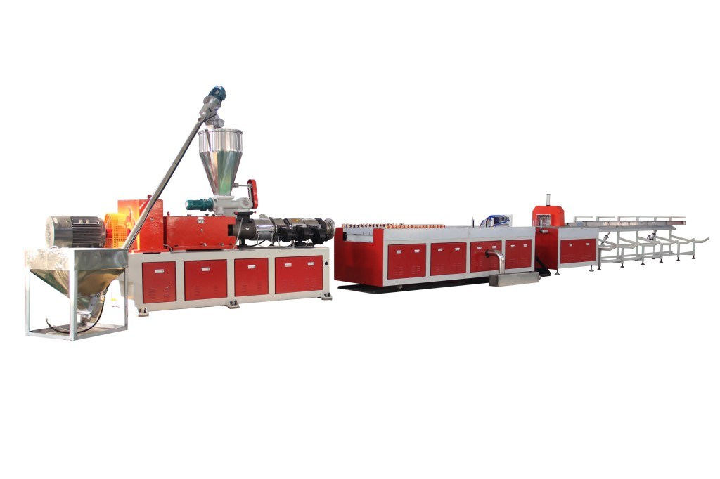 PVC PP PE and Wood WPC Profile Machinery