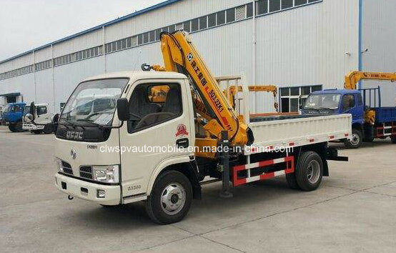 6 Wheels Truck with Crane 4t Crane Truck 5t Price