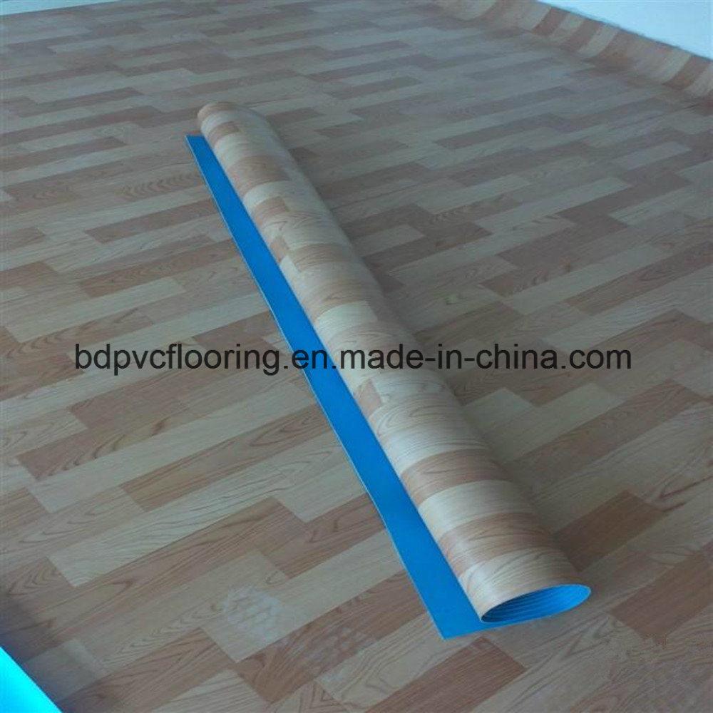 Heavy Duty PVC Vinyl Rolls Commercial Flooring 1.0mm 1.2mm 1.5mm