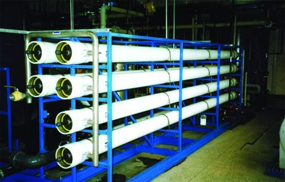 Water Treatment System with Large Size