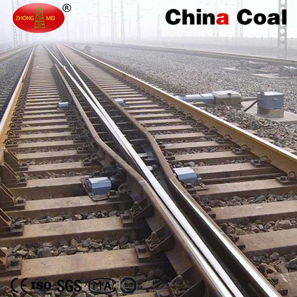 Railway Turnout Symmetric Track Switch