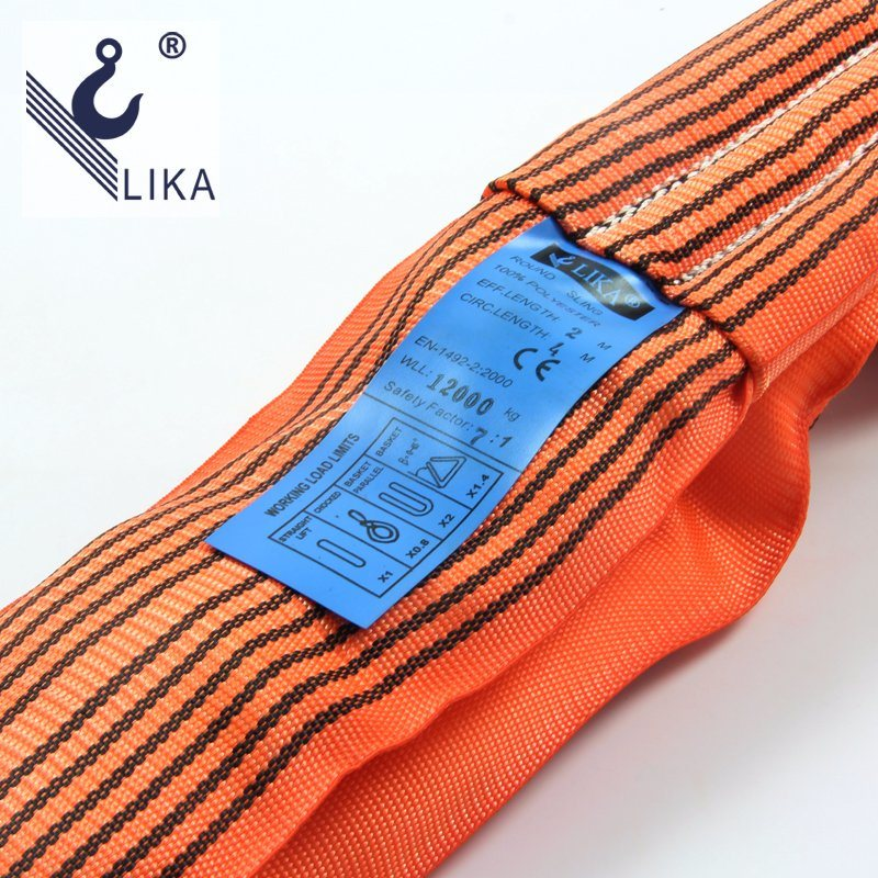 W. L. L. 12t Polyester Endless Round Sling