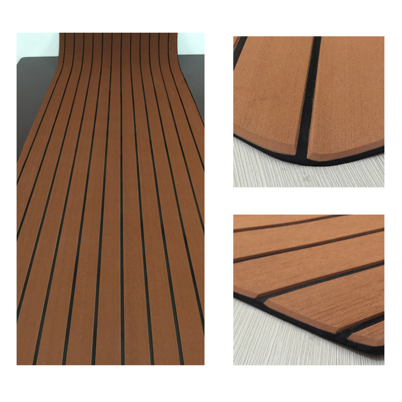 100% UV Marine EVA Teak Sheet for Boat Yacht Decking