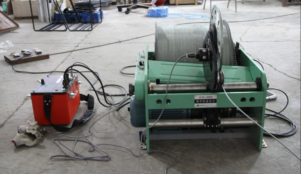 Logging Winch 1000m Geological Borehole Winch