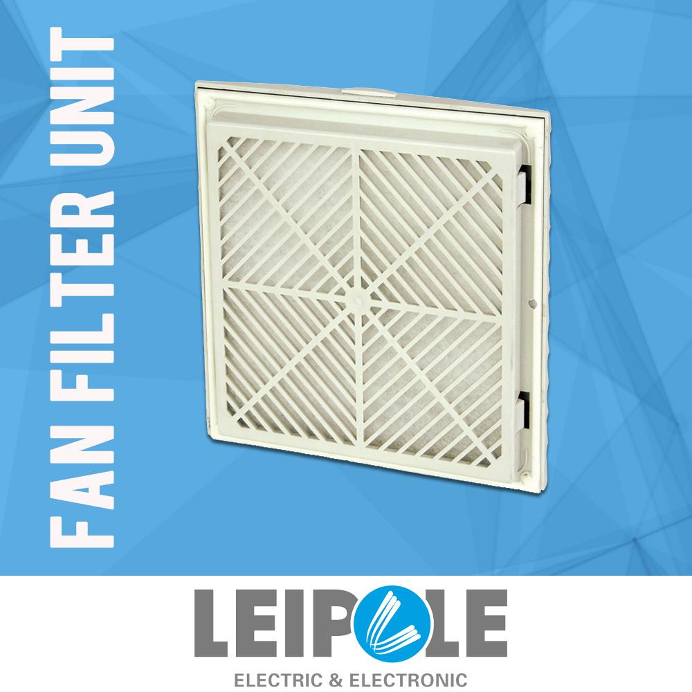 Front Open Cooling Ventilation Axial Exhaust Fan Filter Axial Fan