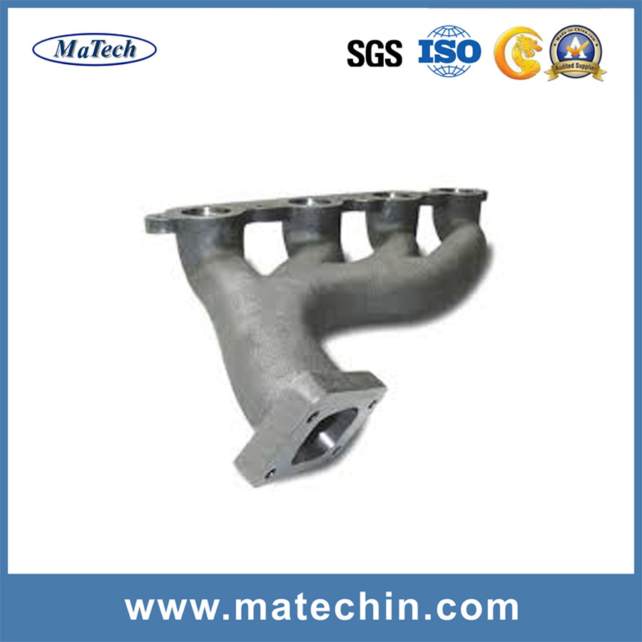 Custom Made Ductile Iron Casting Ggg40 Exhaust Manifold