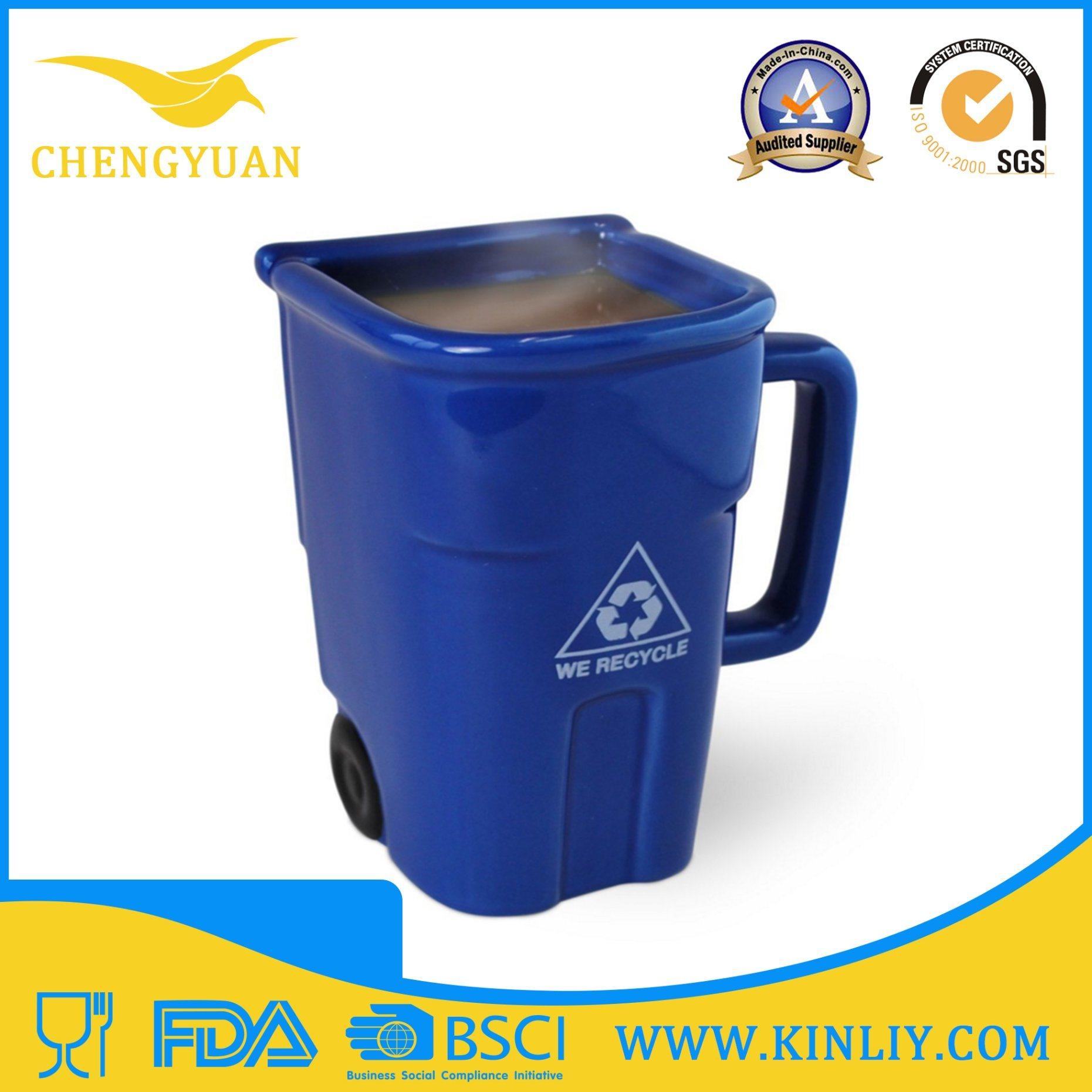 Novelty Ceramic Custom 3D Animal Tea Cup Coffee Mug
