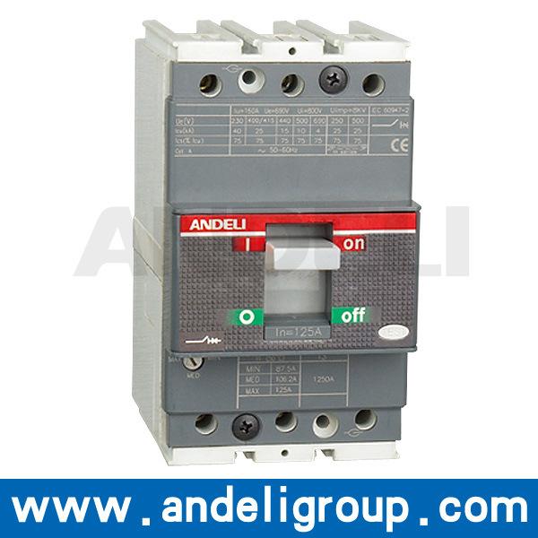 400A MCCB 3p Moulded Case Circuit Breaker (AM3T)