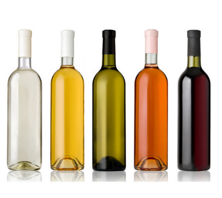 Eco-Friendly Empty Alcohol Glass Red Wine Bottle with Good Price