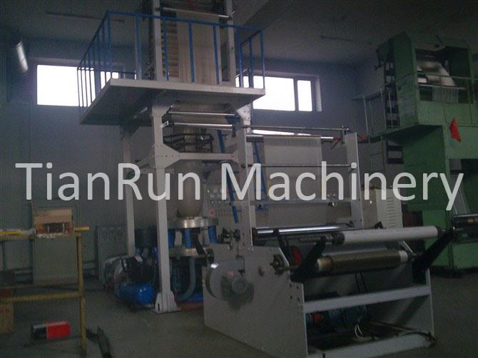 PE Plastic Film Blowing Machine (TR-FMB50/650, TR-FMB55/850, TR-FMB60/1100)