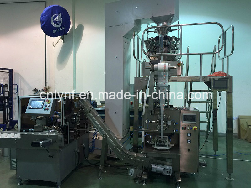 10 Heads Multi Weighter with Pyramid Tea Bag Machine//30 Years Factory for Tea Bag Packing Machine//