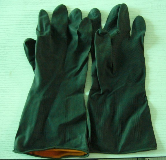 Dipped Flocklined Glove (S M L XL)