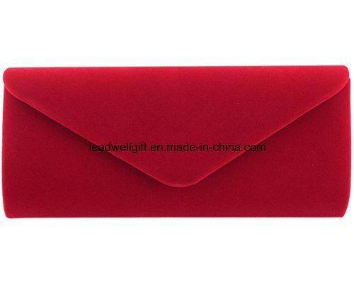 Wedding Evening Party Velvet Clutch Bag Retro Envelope Cross Body Handbag