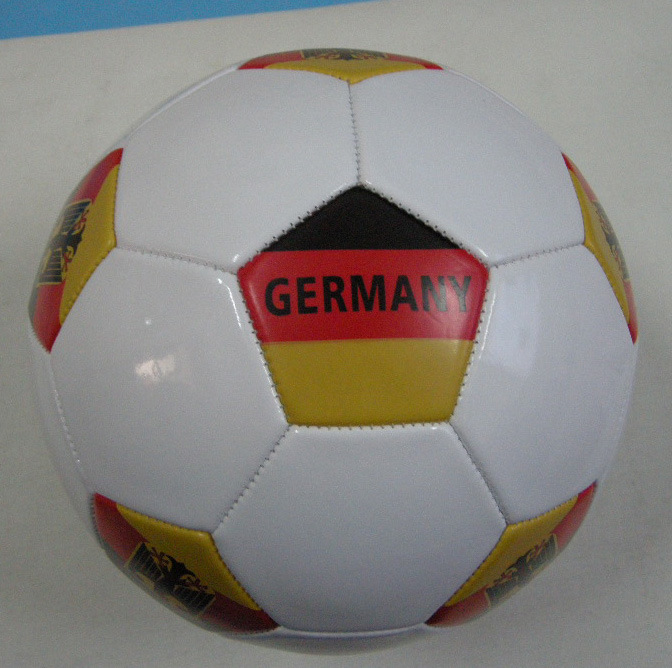 German Country Flag Soccerball