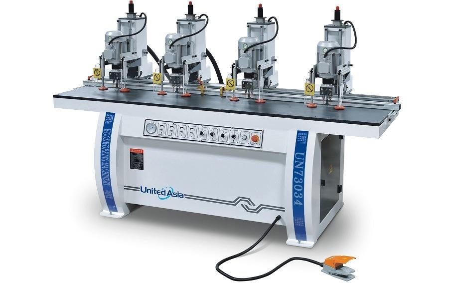 UN73034 Four Hinge Boring Machine