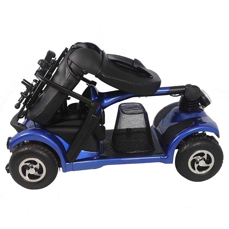 Zvgreen Hot Sales Foldable Four Wheel Electric Scooter 250W Made in China