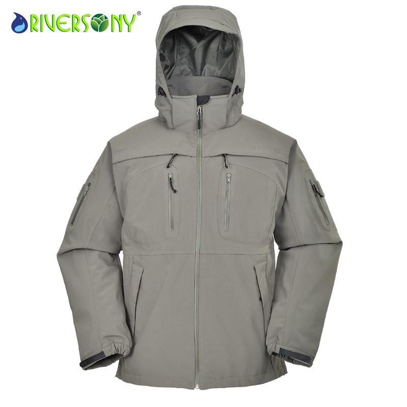 Men′s Outdoor Military Jacket, Softshell Jacket