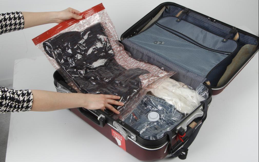 Reasonable Price Travel Vacuum Roll up Storage Bag