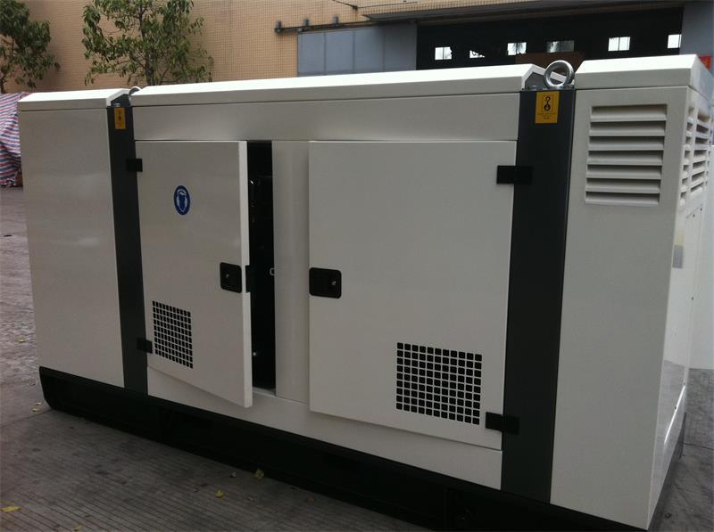 Shanghai Diesel Engine Industrial Generator Set with Silent Proof Box