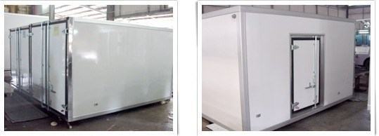 FRP XPS Refrigerated Truck Body