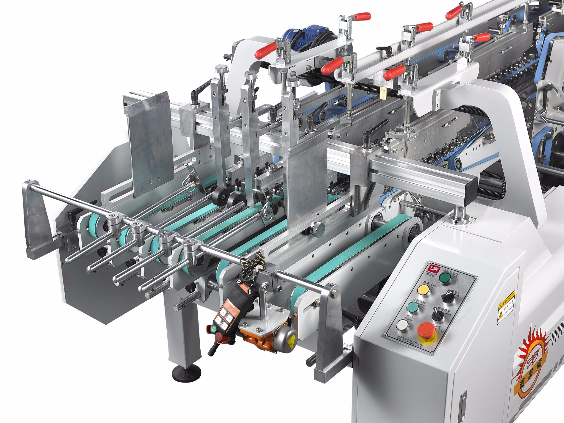 Xcs-800PC Lock Bottom Prefolding Gluing Machine