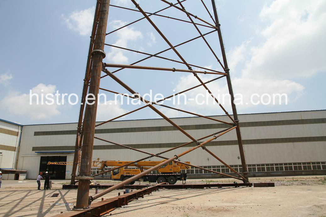 Tubular Steel Telecom Tower (China, High Quality)