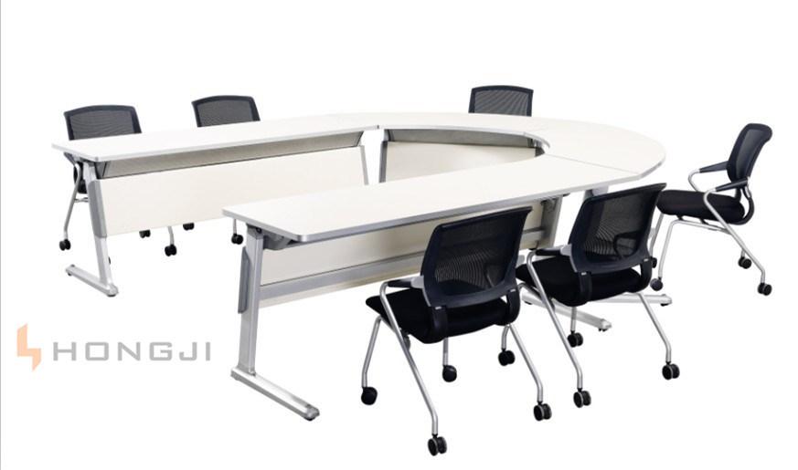 Modern Office Desk Aluminium Folding Training Conference Table