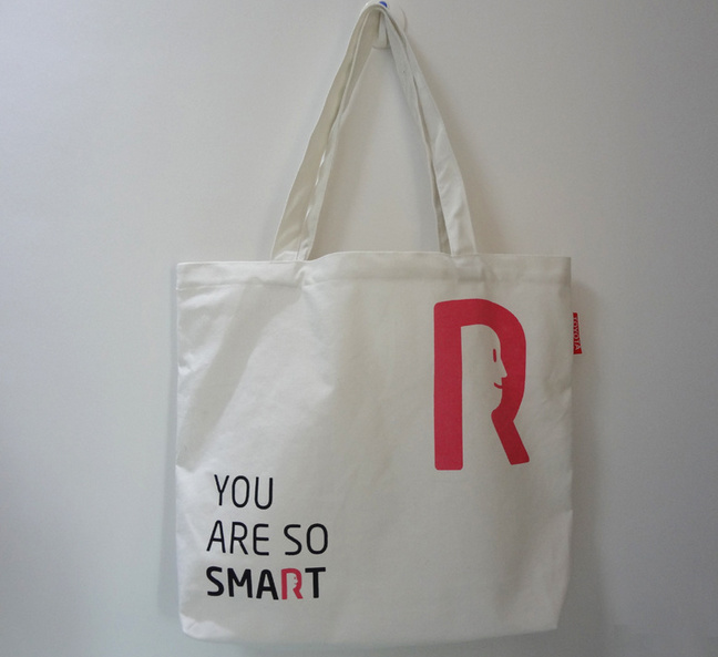 Customize Organic Canvas Fabric Waterproof Tote Canvas Shopping Bag