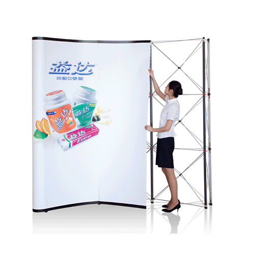 Self Locking Pop up Display Stand V2
